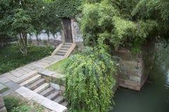 Stairway in water town Wuzhen Stock Image