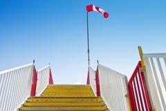 Stairway_windsock Stock Image