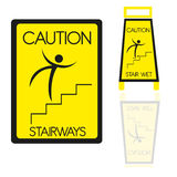 Stairways sign Royalty Free Stock Photo