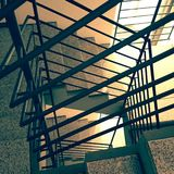stairwell Stock Afbeelding