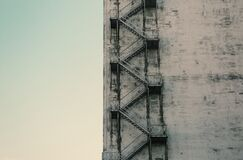 Stairwell Royalty Free Stock Images