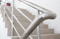 Stairwell in building Stock Image