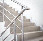 Stairwell in a modern building Stock Photography