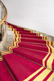 Stairwell in the Polish palace. Stock Photo