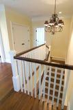stairwell uppför trappan Arkivfoton