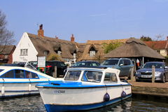 Staith 'n' Willow, Norfolk Broads Stock Photography