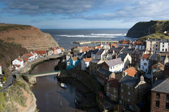 Staithes Royalty Free Stock Photography