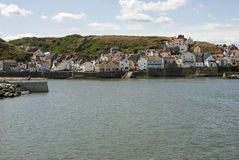 Staithes Stock Afbeelding
