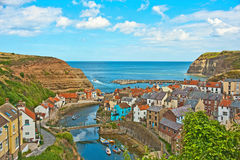 Staithes........... an artist's delight Stock Photo