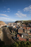 Staithes, East Yorkshire, England. Staithes, on the East coast of Yorkshire, England, is a great place to visit on a sunny day Stock Photography
