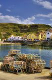 Staithes harbor Royalty Free Stock Image