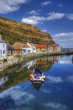 Staithes harbor Royalty Free Stock Photos