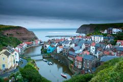 Staithes harbor Royalty Free Stock Photography
