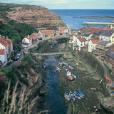 Staithes Harbour Royalty Free Stock Photos