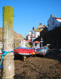 Staithes, Noord-Yorkshire Stock Afbeelding