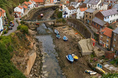 Staithes, North Yorkshire, Anglia Zdjęcia Royalty Free