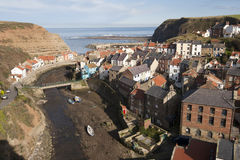 Staithes, Oost-Yorkshire, Engeland Stock Fotografie