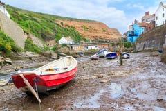 Staithes Yorkshire Anglia UK Zdjęcie Stock
