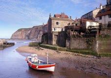 Staithes, Yorkshire coast stock image