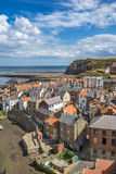 Staithes in Yorkshire England Stock Image
