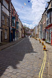 STAITHES, YORKSHIRE/UK - AUGUST 21 : Street Scene in Staithes Yo Royalty Free Stock Photos