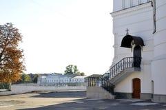 Staitway intrance σιδήρου στην εκκλησία Στοκ Εικόνες