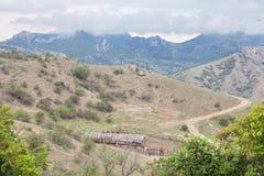 Stajenka w górach Zdjęcia Royalty Free
