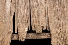 Stajni drewno Zdjęcie Stock