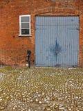 Stajni drzwi Zdjęcia Royalty Free