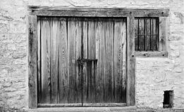 Stajni drzwi Zdjęcia Stock