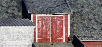 Stajni drzwi Fotografia Royalty Free