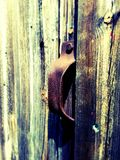 Stajni drzwiowa rękojeść Obraz Stock