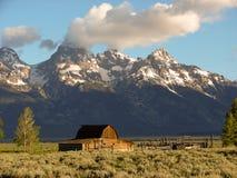 stajni historyczni park narodowy tetons Zdjęcia Stock