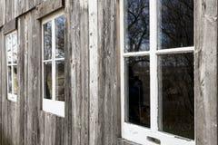 Stajni okno 2 Zdjęcie Royalty Free