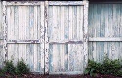 Stajni starzy Drzwi Fotografia Stock