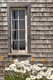 stajni wieśniaka okno Obraz Stock