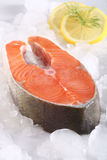 STAKE FROM A SALMON Royalty Free Stock Image
