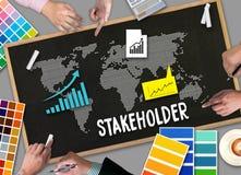 STAKEHOLDER , stakeholder engagement concept  , stakeholders, st Stock Photo