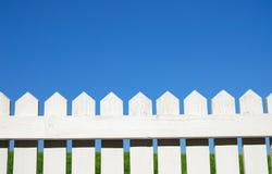 staket över Arkivbild