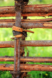 staket arkivfoto