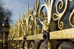 Staket av Albert Memorial royaltyfri foto