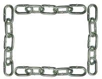 Staket för Chain sammanlänkning Royaltyfri Fotografi
