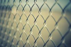 Staket för Chain sammanlänkning Royaltyfri Foto