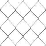 staket för Chain sammanlänkning 3d Royaltyfri Bild
