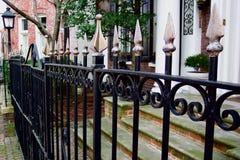staket georgetown royaltyfri foto