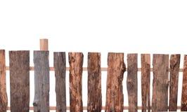 staket isolerat trä arkivbilder