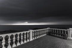 Staket på havet Royaltyfri Fotografi