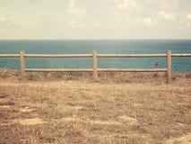 Staket vid havet Royaltyfria Foton
