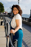 staketkvinna Royaltyfri Fotografi