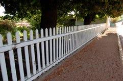 staketposteringwhite Royaltyfri Foto